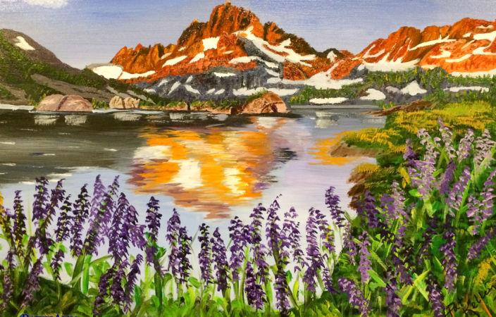 Banner Peak Alpenglow