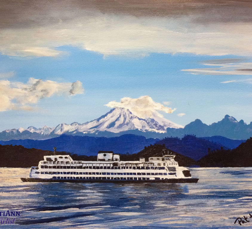 Northwest Favorite Mountain, Sea & Ferry (SOLD)