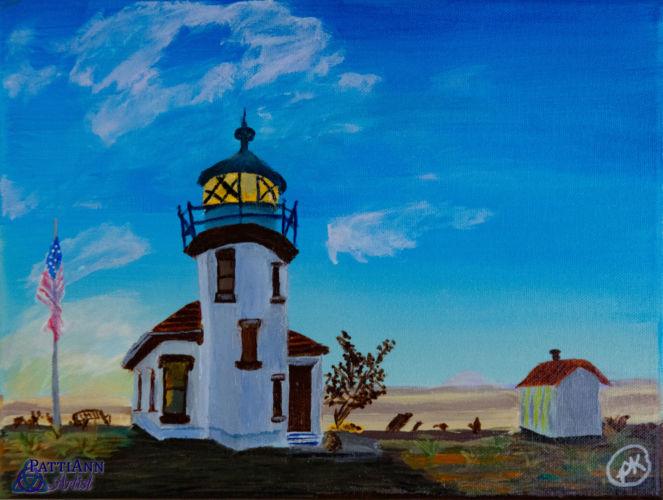 Pt. Robinson Lighthouse – Early Morning Light