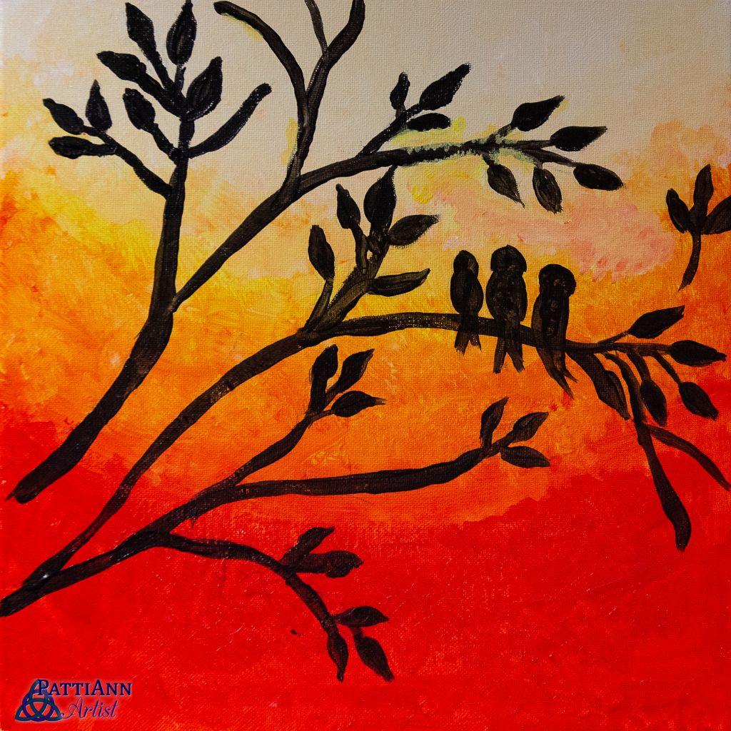 Tutorial 2: Sunset Birds on a Branch