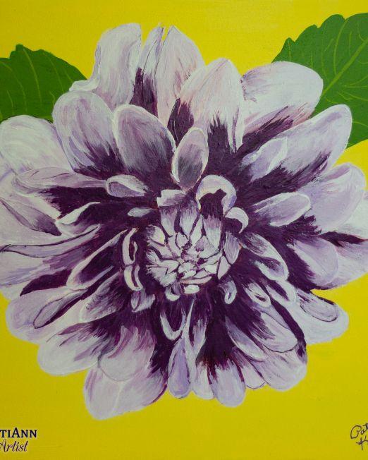 Flowers in Summer Trio - Dahlia in Summer