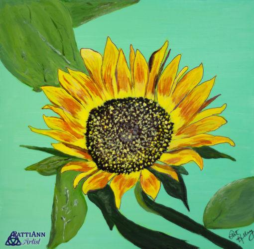First Summer Flower – Sunflower