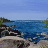Tahoe Serenity: The Rock