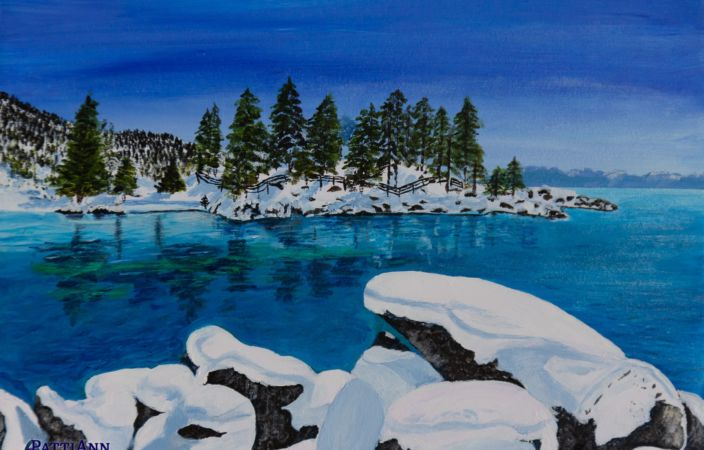 White As Snow, Sand Harbor, Lake Tahoe