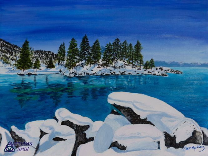 White As Snow, Sand Harbor, Lake Tahoe