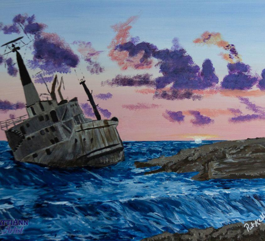 Shipwreck on Malta