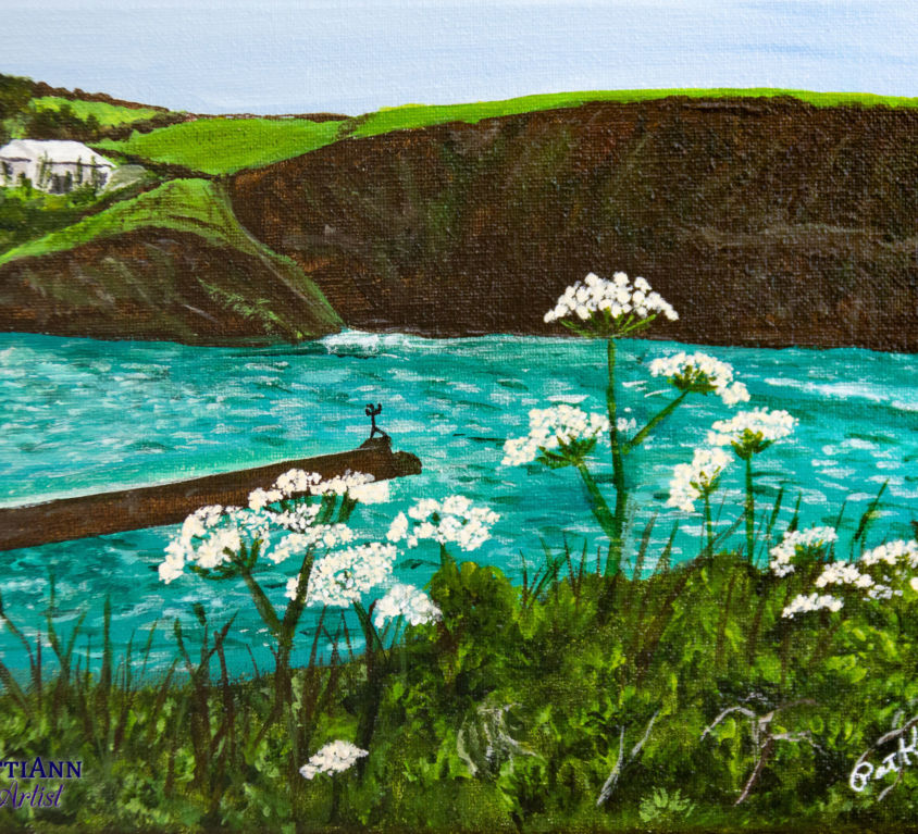 Port Isaac in the Summer