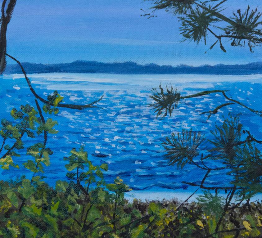 Sparkly Hidden Beach