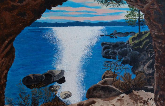 Glistening Lake Tahoe