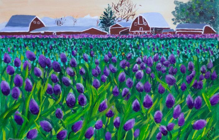 Tulip Time on the Farm