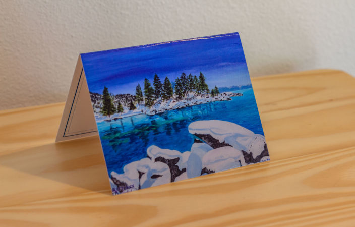 White As Snow Note Card