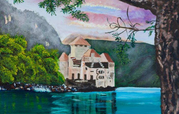 Enchanted Chillon Castle