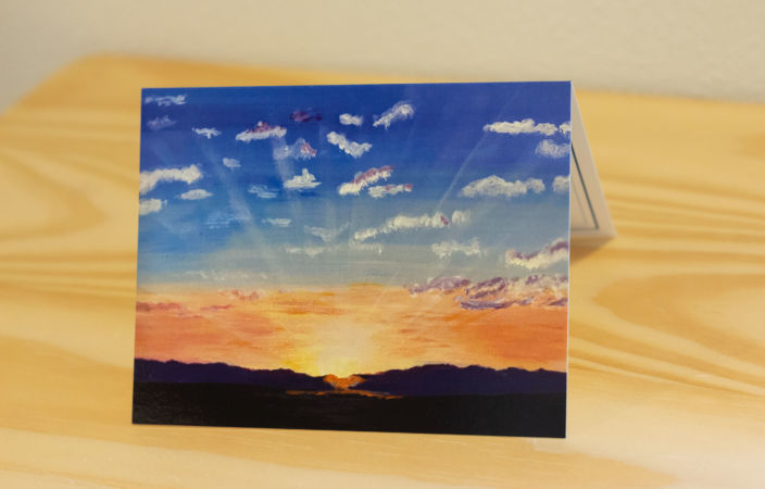 It's a New Day Note Card